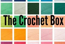 The Crochet Box! / the crochet box is your monthly yarn subscription box straight to your door at the beginning of each month! FREE UK delivery!!!