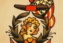 Sailor jerry/old school
