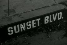 Billy Wilder's Sunset Boulevard / Images from Billy Wilder's classic Sunset Boulevard, starring Gloria Swanson and William Holden.