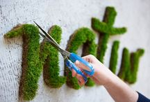 Green Graffiti / This is al about moss and moss graffiti's