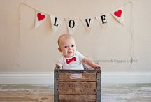 Valentines baby photo shoot / by Katie Robinson