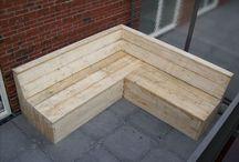 Bauholz Gartenmöbel