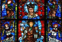 The Cathedral of Chartres / The cathedral of Chartres is one of the most famous cathedral on earth thanks to its wonderful stained glass windows.#driverguidefrance organize #private  #guided #tours from #Paris by #car #minivan #minibus #small #groups