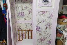 Recycled wardrobe, my sewing workshop / Recycle