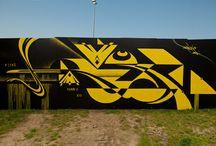 FRESHWOUNDS FEATURED STREET ARTIST RUBIN / Sweden based street artist Rubin's work.