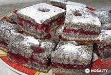 Makovotřešňový koláč
