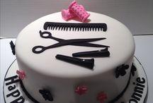 hair cake, birthday celebration