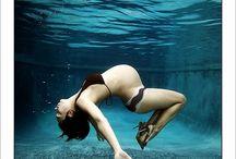 Voorbeeldfotos ; Underwater photoshoot