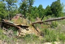 Tank graveyards & abandoned tanks