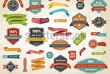 Labels, Banners, Stickers, Tags