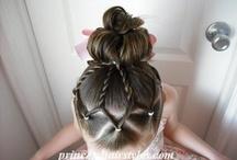 Hair styles for my girls! / by Brandy Fabian