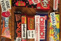 Sports Candy Ideas