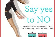 No nonsense NO / Experience the NO™ Collection: A seamless line of first layer styles by No nonsense. This assortment of leggings, seamless shorts, tights, and sheers are designed with innovative seamless technology, to give you a smooth look that feels like wearing nothing at all. / by No nonsense