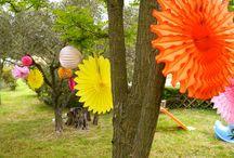 Anniversaire Mes 30 ans / Idées de décoration pour ma fête d'anniversaire. Thème : coloré et printanier