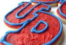 School Pride / Cookies for all your school events | Team Cookies | School Logo Cookies