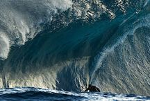 water and surfing