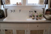 Antique Retro Kitchen Faucets And Sinks Ideas For New Vintage Kitchen Design Style