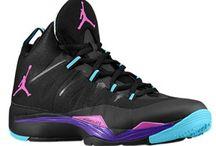 Nike and Jordan shoes