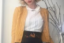 Core Style / Vintage, Theatrical, Femme, Farbenfroh, Handmade   {Wardrobe Architect}