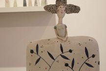 Ceramics Figurative / Ceramics, sculpture, art, craft, handmade. / by Noelle Horsfield Ceramic Artist