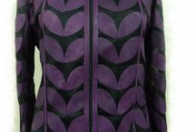 Purple Leather Leaf Jacket for Women / Buy Online Handmade Very Soft Genuine Lambskin Purple Leather Leaf Jacket for Women. All Regular and Plus Sizes Available. Free Shipping , Returnable. [ BUY 2 SAVE $20 ] ...