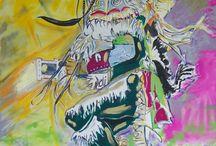 BRANDER RAVEN- NATIVE NORTHWESTCOAST ART / Native Nortwest Coast Indigenous Aboriginal Artist
