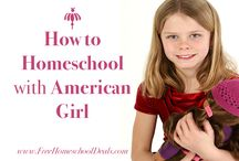 Homeschool--American Girl History Plans / Teaching history to elementary students using American Girl books and activities.