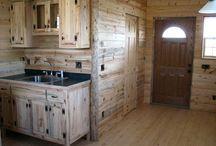 small cabin interiors
