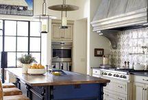 кухня в загороднем доме