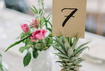 Ślub i wesele motyw ananas
