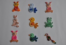 animales quilling