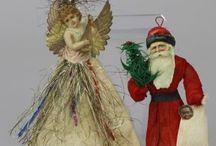 Wattefiguren Weihnacht