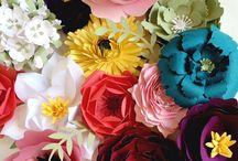 Paper flower (kağıt çiçek)