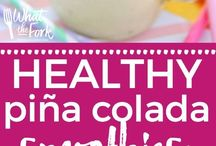 Drink Recipes / Alchoholic drinks, smoothies, healthy drinks, and anything tasty in liquid form. :)