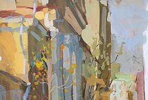 Paintings - buildings