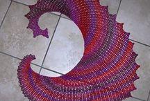shawls, cowls & scarves (xales, golas, mantas)