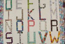 Alphabet Quilts / by Patricia Belyea