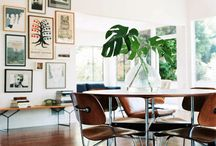 home inspiration / modern and old... simple scandinavian, eclectic, bohemian. i like it mixed.