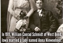 Fascinating Family Facts / Amazing trivia about the Schmidt family who originated in Machtlos, Germany.