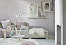 --Nude and pastel interiors