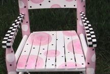 sillas para niñas pequeñas