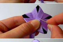 Textil virágok