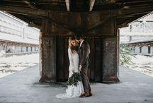 Anežka & Magnus / Idustriální svatba / Industrial wedding
