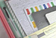 Füzetek, naptárak, könyvek