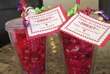 Valentine's Day / All things Valentine's Day: crafts, foods and decorations