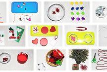 20 actividades navideñas de inspiración montessori