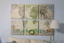 crafts with maps!