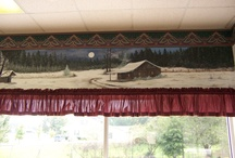 My Paintings / My wall murals and canvas paintings