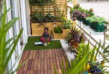 Balkonová zahrada