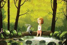 ilustrację dla dzieci